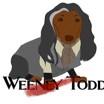 Weeney Todd by whimsyteaspoon