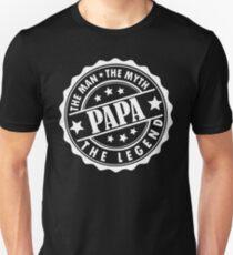 Papa - Der Mann, der Mythos, die Legende Slim Fit T-Shirt