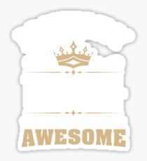 January 1944 75 Years Of Being Awesome Sticker