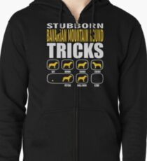 Stubborn Bavarian Mountain Hound Dog Tricks T shirt Perfect Gift For Bavarian Mountain Hound Pet Lovers Zipped Hoodie
