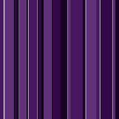 Purple stripes vertical by Anteia