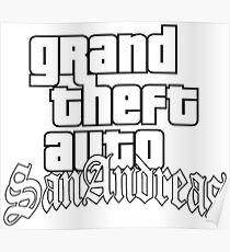 Grand Theft Auto San Andreas Poster