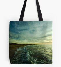where water and sky meet Tote Bag