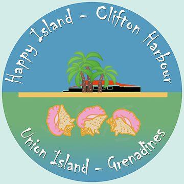 «Happy Island Union Grenadines» par Lionfish