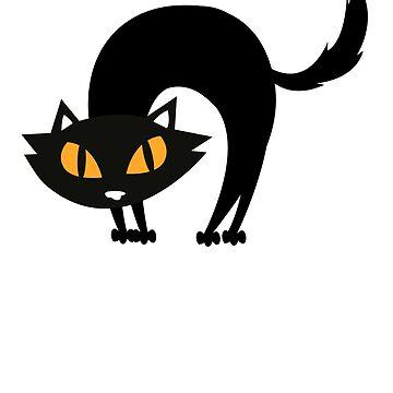 halloween Black Cat-6o's halloween-Halloween Costume Skull Funny Scary Gift by Girlscollar