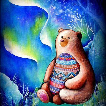 Spirit Bear by ClearJadeStudio