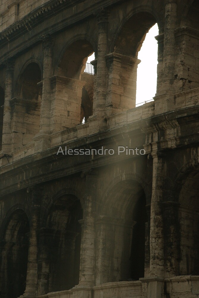 Golden Light through the Arch by Alessandro Pinto