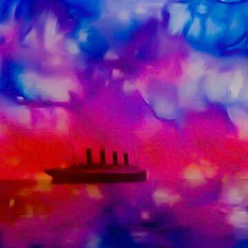 Colorful Titanic  022 28 01 17 by algirdasdesign