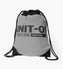UNIT 01 PROJECT EVA  | Neon Genesis Evangelion Drawstring Bag