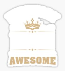 February 1949 70 Years Of Being Awesome Sticker