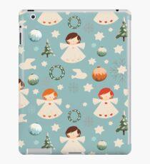 Vintage Christmas Angels iPad Case/Skin