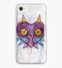 Majoras Mask Watercolour iPhone Case/Skin