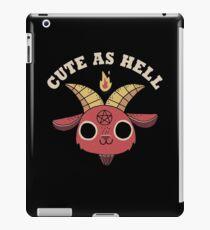 Cute As Hell iPad Case/Skin