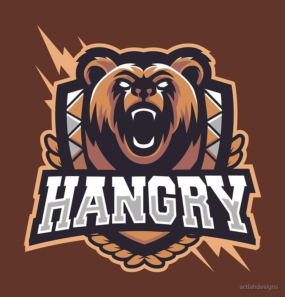 Team Hangry Bär von artlahdesigns