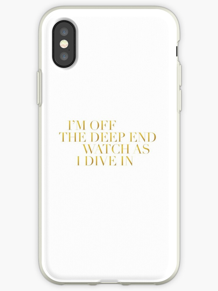 'A Star Is Born - Shallow Lyrics - Lady Gaga' iPhone Case by dawsonsweek