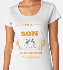 Bowling Son Christmas Gift or Birthday Present Women's Premium T-Shirt