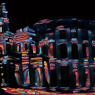 Bold Colors Rome by Johnhalifax