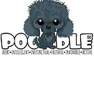 Poodle (Black) - DGBigHead by DoggyGraphics
