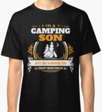 Camping Son Christmas Gift or Birthday Present Classic T-Shirt