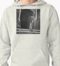 The Silver Vagabond and the Lonely Girl  Pullover Hoodie