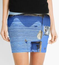 Back Beach Blues Mini Skirt