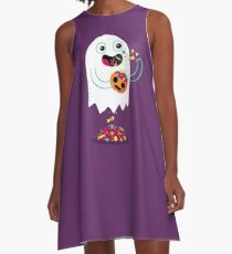Ghost Candy A-Line Dress
