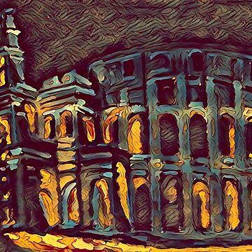 The Roman Coliseum  by Johnhalifax