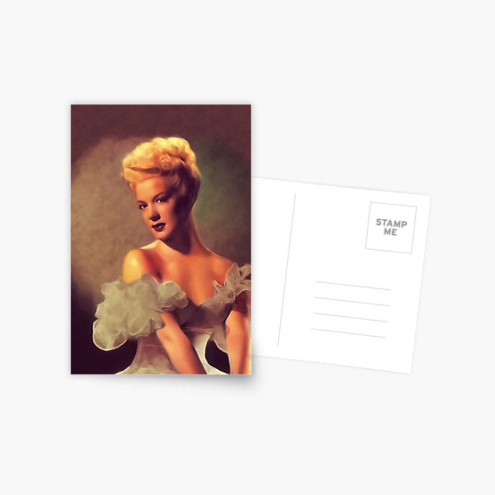 Betty Hutton, Vintage Schauspielerin Postkarte