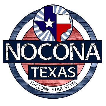Nocona Texas rustic wood circle by artisticattitud