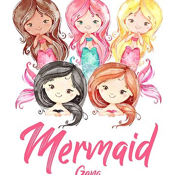 Mermaid Gang  by LShayDesigns