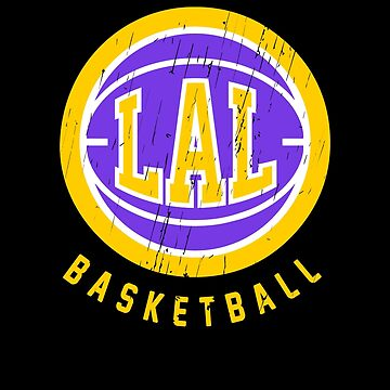Los Angeles Basketball Retro by BonafideIcon