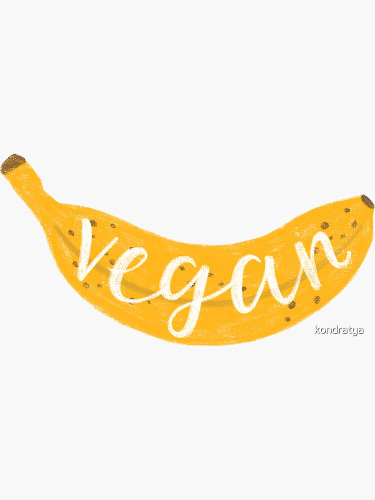 Vegan banana by kondratya