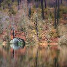 The Cabin Of Loch Oire (Scotland) by Cat Burton