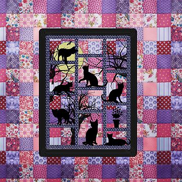 Patchwork cats by LuciaS