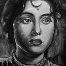 Madhubala 1949 by Sanjib Ahmad