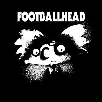 football head by piercek26