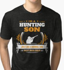 Hunting Son Christmas Gift or Birthday Present Tri-blend T-Shirt