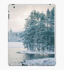 Winter at a Loch Near Kingussie (Cat Burton Photography) iPad Case/Skin