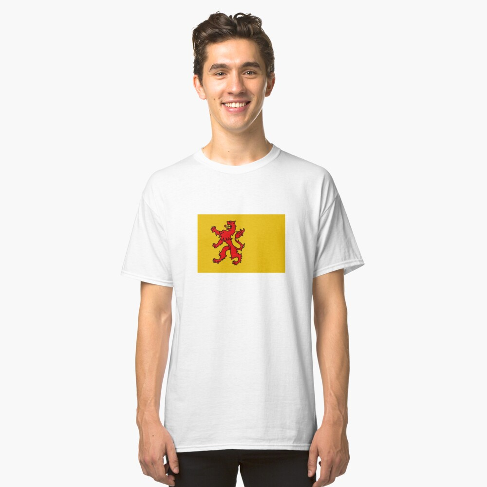 South Holland Flag Classic T-Shirt Front