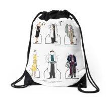 Molly Hooper Paper Dolls Drawstring Bag