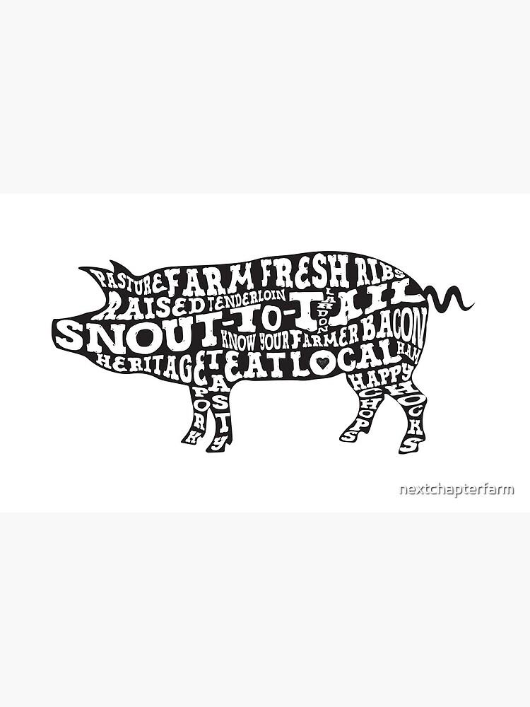 Whole Hog Black by nextchapterfarm