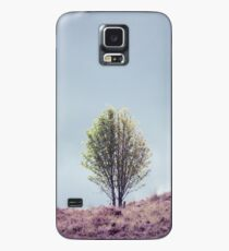 Alone in the Heather (Cat Burton Photography) Case/Skin for Samsung Galaxy