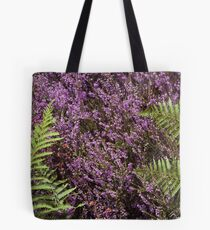 Heather and Fern Tote Bag