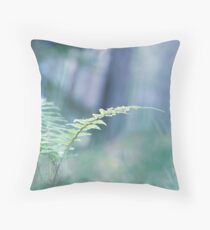 Ferns and Daydreams Throw Pillow