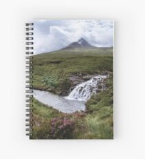 Summer on the Isle of Skye Spiral Notebook