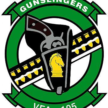VFA-105 Gunslingers by Quatrosales