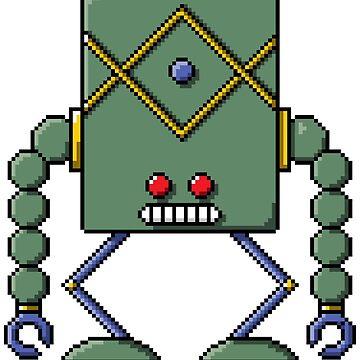 Pixel Robot 136 by Vampireslug