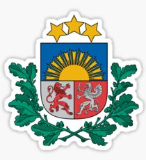 Coat of Arms of Latvia Sticker