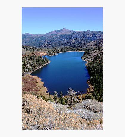 Red Lake Photographic Print