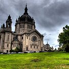 Cathedral of Saint Paul by Benjamin Curtis